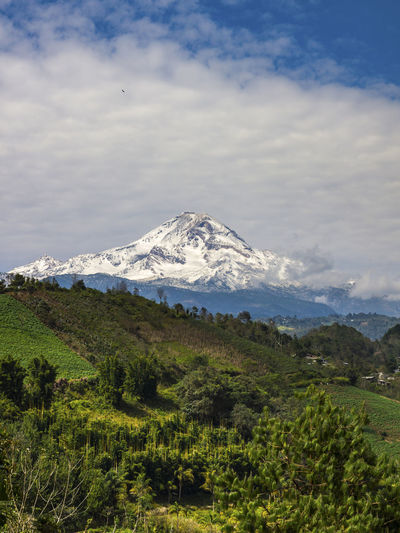Pico de Orizaba Countryside Exploring Fog Geology Hill Landscape Majestic Mountain Mountain Range Nature Non-urban Scene Outdoors Physical Geography Remote Scenics Tranquil Scene Tranquility Travel Valley PicodeOrizaba