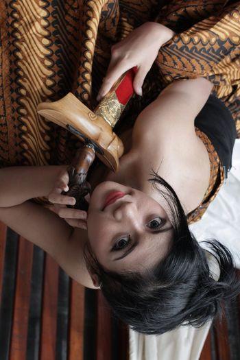 Indonesian Heritage. Keris Batik BatikIndonesia Javanese Potrait Of Woman
