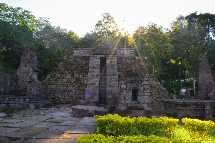 Sukuh temple Outdoors Ancient Civilization Travel Destinations Hindu Temple History Temple Built Structure Majapahit Perspective