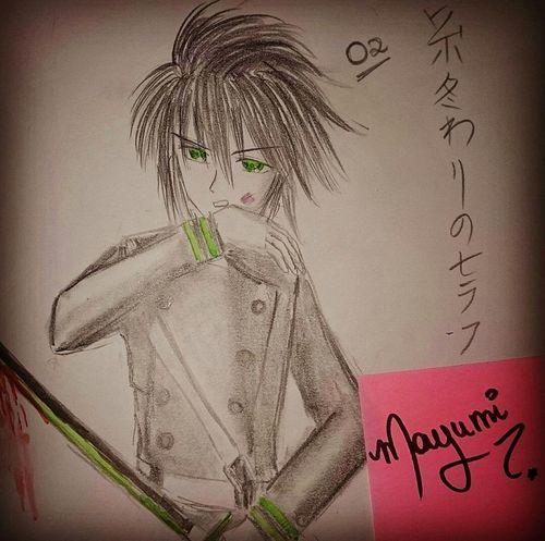 Draw number 2 ! Fanart Yuichirohyakuya Owari No Seraph Anime Animeboy Drawing