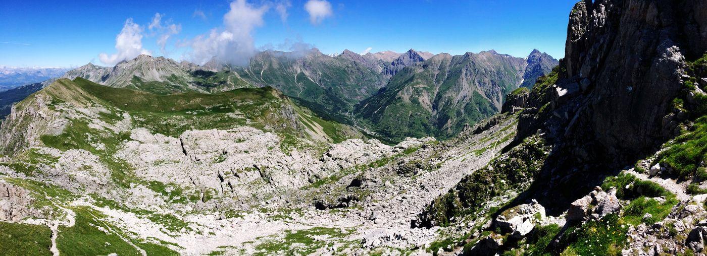Les aiguilles de Chabrières (2404m - Hautes-Alpes)