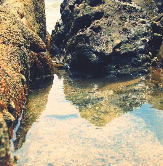 Rocks Water Reflections Photo