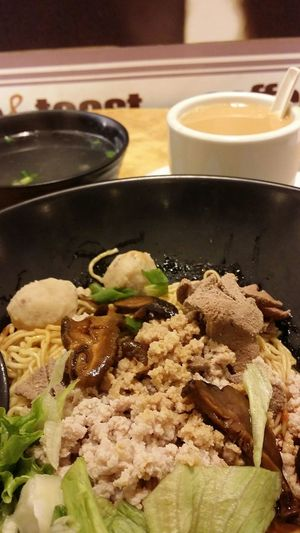 Beeakfast Noodles Minced Pork Noodles Ba Chor noodles Foodphotography Robinson Road Singapore