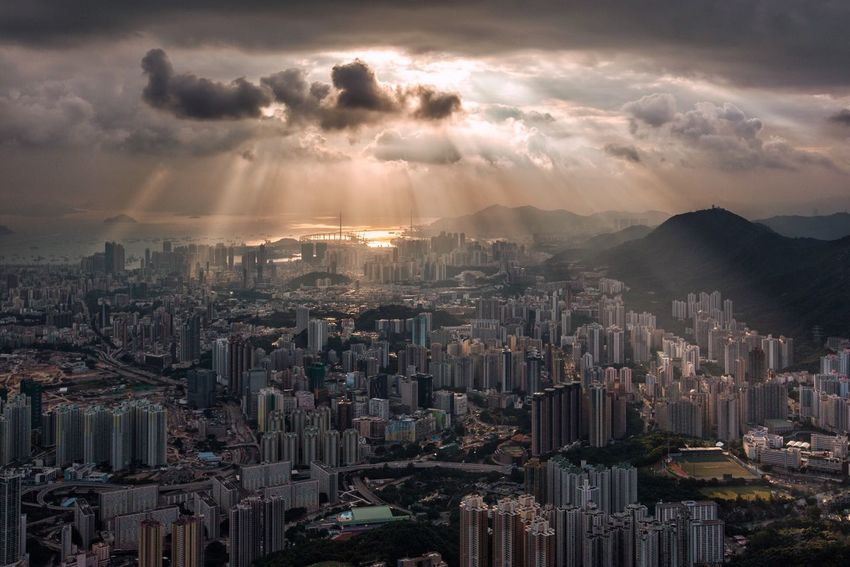 Photography Cityscape Architecture Cloud - Sky Nature Hong Kong
