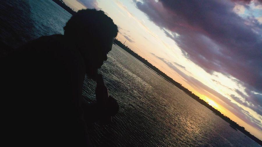Sunset Louisiana Traveling Enjoying Life Lake Charles