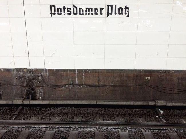 Postdamer Platz Metrostation Minimalism Railway Metro Station Metropolitan Whitewall Day Around Walks Berlin Mitte Walking Tour See And Live Live In Concert
