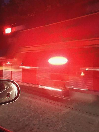 Whizzing By Fire Truck Hurry Red Siren Lights Emergency Vehicles Rescue Move Over Traffic