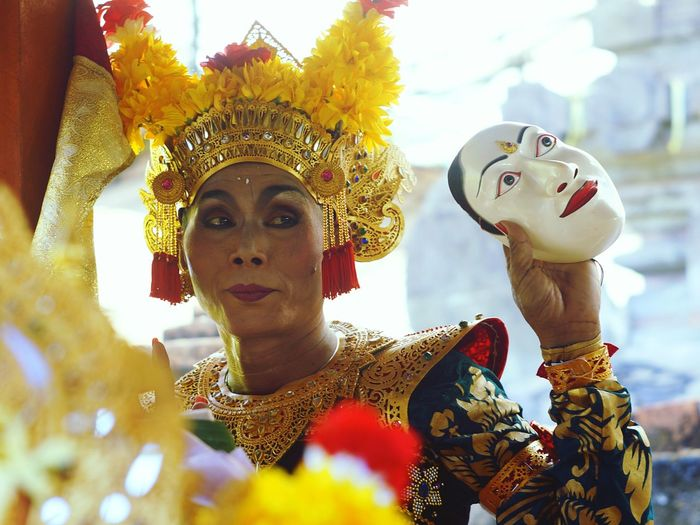 The dancer Uniqueness Character Headshot Arts Culture And Entertainment One Person Outdoors People Day One Man Only Artist Dancer Istockphoto Eyeem Market Week On Eyeem EyeEm Indonesia Bali, Indonesia The Portraitist - 2017 EyeEm Awards
