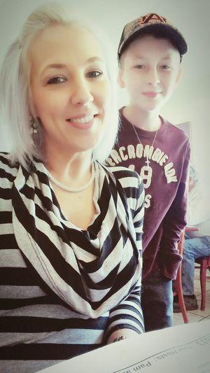 My little Big man. MyHeart❤ Myson #myworld #mylife❤❤❤ Ilovethiskid Check This Out Selfiesunday Sohandsome Hesmine Mybestyearyet Enjoying Life
