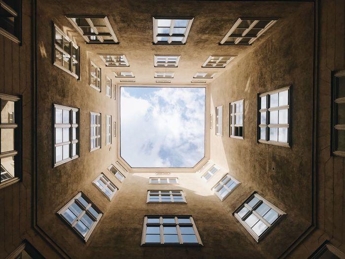 Vienna Austria Architecture Sky Built Structure Window Building Exterior Building Cloud - Sky Day Apartment City