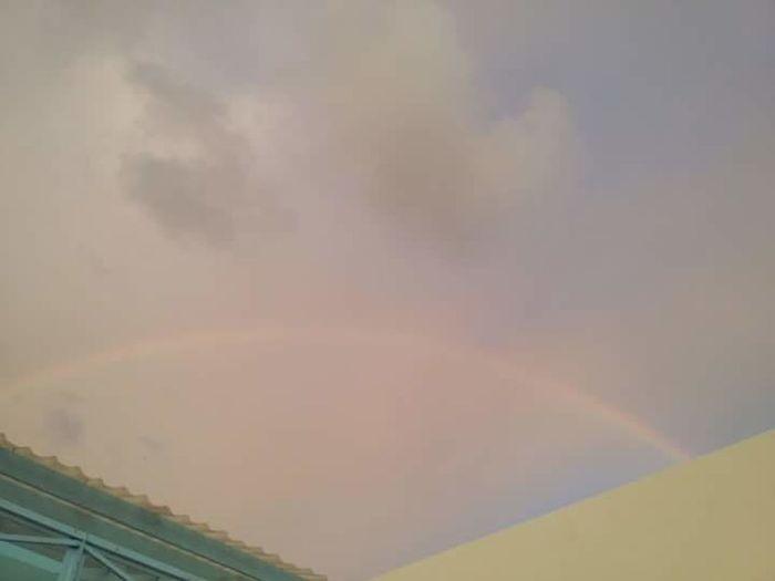 Rainbow Colors Vietnam Baclieu Multi Colored Rainbow Sky Sky Only