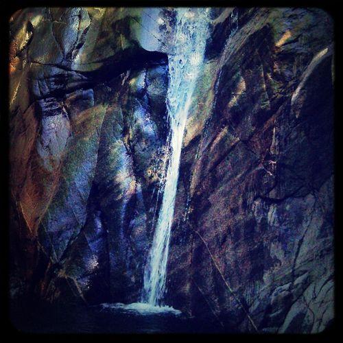 Waterfall Summer Relax Lake