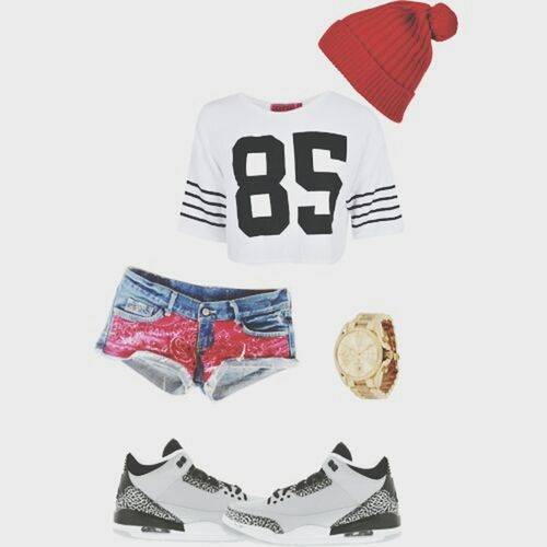 My favorite set Outfit Style Jordan Shorts
