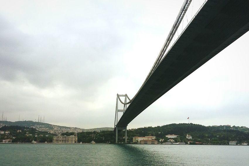Bridge Turkey Sea Boğaz Köprüsü Beautiful Note 2 Shot Good Day