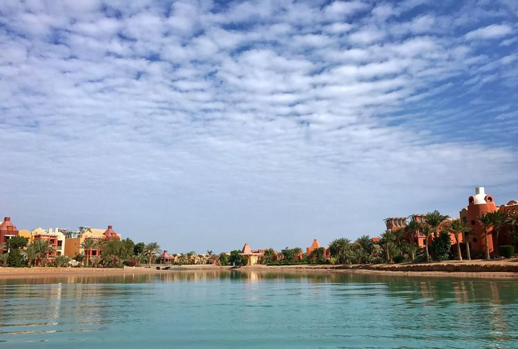 Sultan Bey Resort El Gouna El Guna El-Gouna El-Guna Egypt Ägypten  Red Sea Rotes Meer © MJ ® Architecture Building Exterior Water Built Structure Sky Tree Cloud - Sky Nature Outdoors Day Swimming Pool Beauty In Nature No People My Year My View