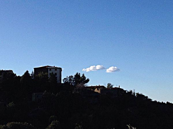 Sticciano Maremma Italien Landscape Sky Cloads