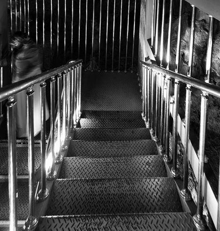 Endless Stairs Astim Caves Calcium Calcium Deposits Caves Dark Indoors  Mersin Metal Railing Stalactite  Steps Steps And Staircases The Way Forward Turkey Underground Undergroundphotography