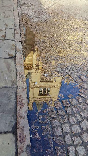 Walking Around Streetphotography Water Reflections Pavements