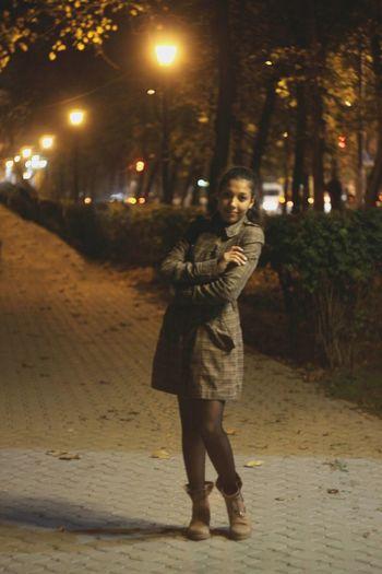Me Autumn Lights Night
