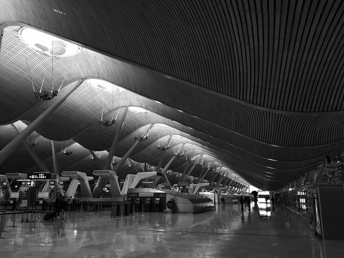 Photos Around You At The Airport Airport Blackandwhite Taking Photos Black And White Traveling Monochrome In The Terminal