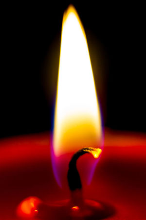 Candle Flame Hot Black Background Burning Candle Candlelight Close-up Flame Flickering Flame Glowing Heat - Temperature Illuminated Indoors  Lighting Equipment Night No People Tea Light Wick