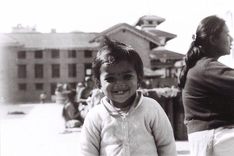 The streets of Kathmandu Nikkormat FS (1965) Filmcamera Filmisnotdead The Purist (no Edit, No Filter) Untold Stories Portrait Child Fortheloveofblackandwhite Tadaa Community EyeEm Best Shots