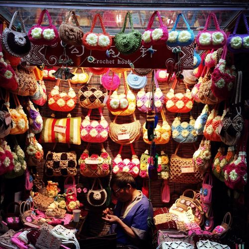 Taking Photos Enjoying Life Bags 锦里 Chengdu China