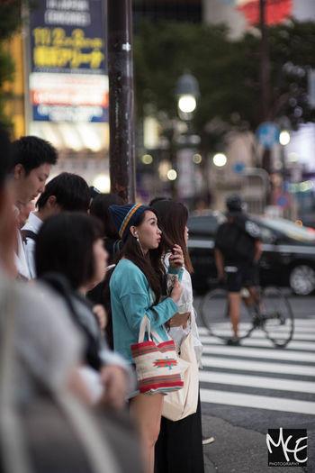 City City Life Japan People Shibuya Street Tokyo Urban