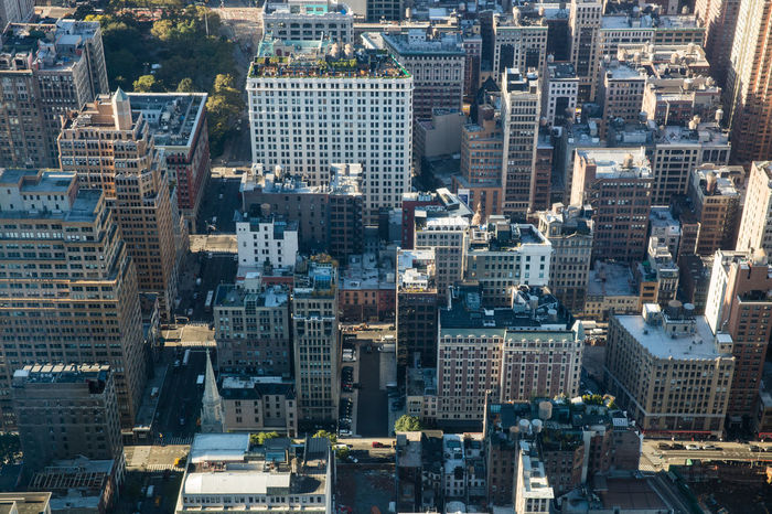 Skyscrapers in New York Architecture Buildings City Cityscape From Above  Looking Down Looking Down From Above Manhattan New York New York City New York ❤ Outdoors Point Of View Skyscraper Street Travel Destinations Travel Photography