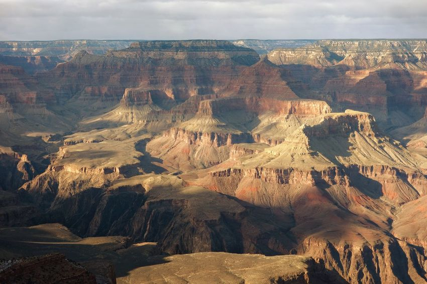 Grand Canyon. BY SONY A7R Grand Canyon USA Beauty In Nature Day Geology Landscape Nature No People Outdoors Physical Geography Rock - Object Rock Formation Rock Hoodoo Rough Scenics Sky Tranquil Scene Tranquility Travel Destinations