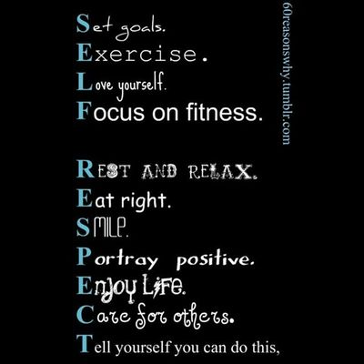 StartingToday Icandothis Selfrespect Life