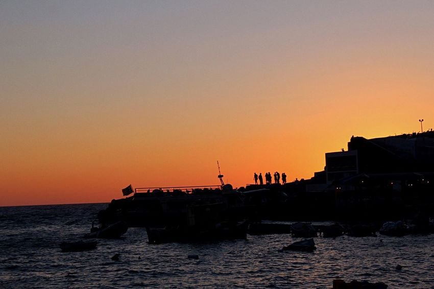 Sunset Santorini, Greece Santorini Island Santorini Sunset Santorini Greece Santorini View Greek Islands Greek Colors GREECE ♥♥ Greece Photos Greek Summer Greekislands Sea People Watching People