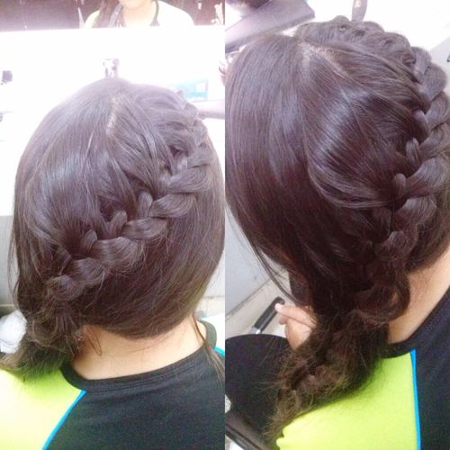 Hair Hairbraid Braid Hairstyle Hairstyles Fashion Hair Hair Cut