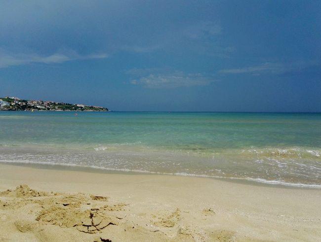 Sea Water Sea Beach Wave Sand Blue Relaxation Pastel Colored Summer Beauty Tide Coastline FootPrint