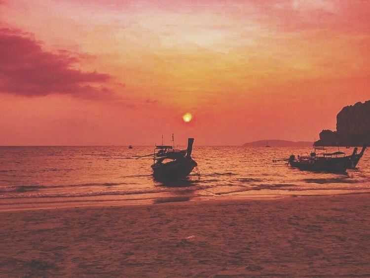 Festival Season Sunset Silhouettes Dusky Sky