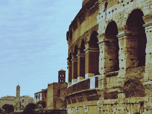 Rome Roma Coliseum Coliseo Omd-em1 Olympus OM-D EM-1 Italy Italia