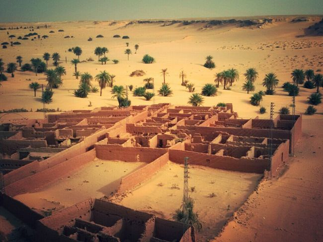 Patrimoine Architecture Old Architecture Old City Of Desert Old Palace Sable 🌴 Palm Trees Desert Desert Beauty Old Construction