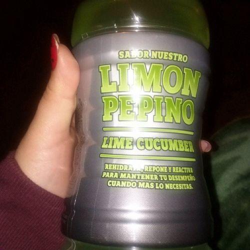 MyFavorite  LimonAndPepino LimeAndCucumber Gatorade