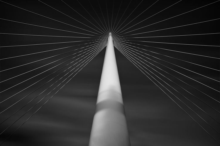 Abstraction from a bridge in Toledo (Spain) Abstract Photography Abtract Architecture Blackandwhite Blackandwhite Photography Bridge Composition Fine Art Photography Long Exposure Modern Modern Architecture The Architect - 2017 EyeEm Awards Toledo