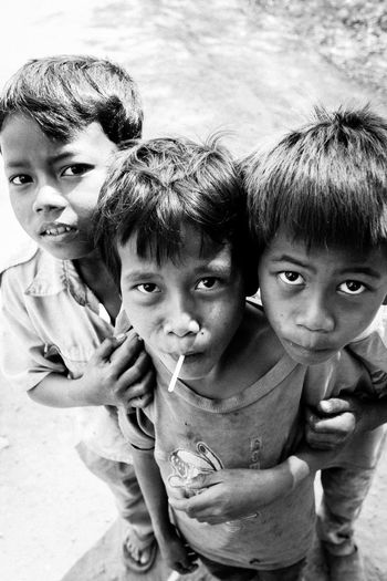 Ankor Thom Ankor Wat Cambodia Ankorwat Boys Close-up Friendship Happiness Khmer Looking At Camera Outdoors People Smiling EyeEmNewHere The Week On EyeEm The Week On EyeEm