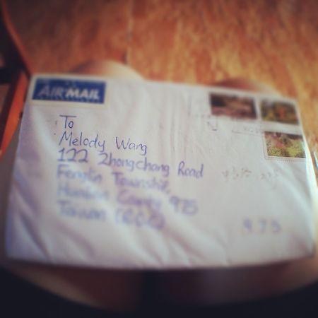 很謝謝收到妳提早的生日祝福:) Birthdaycard