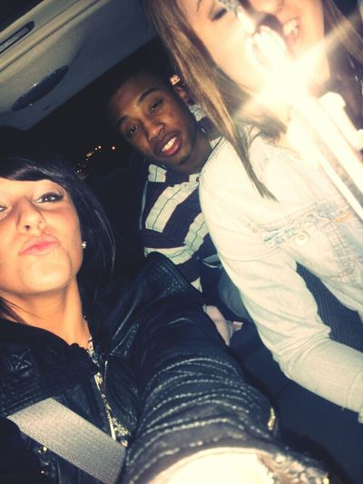 we was all coolin' last night ! (:
