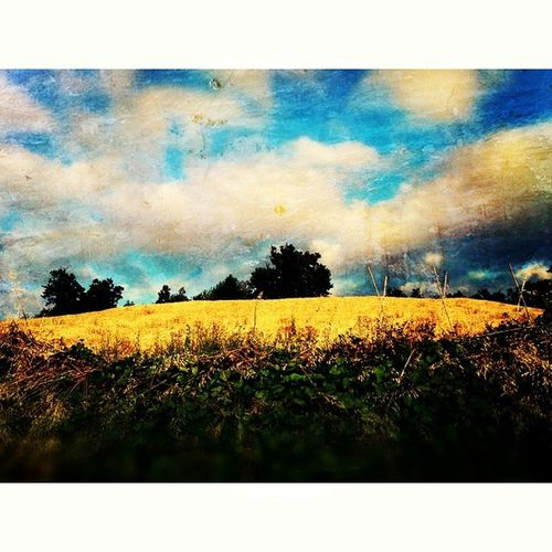 Qui, dove il tempo si è fermato.. Nature Summer Sky Clouds landscape skypic instapic picoftheday photooftheday instamood igersItalia igersAbruzzo igersTeramo