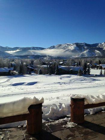 snowy mountain Parkcityutah Skiing Nature
