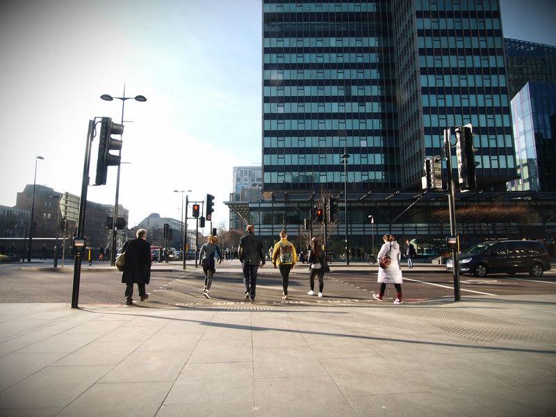Traffic and air pollution. Warren Street. Central London. 19/01/2017 Bikes City Life Environment London Olympus Pedestrian Pedestrians Public Steve Merrick Stevesevilempire Urban Zuiko
