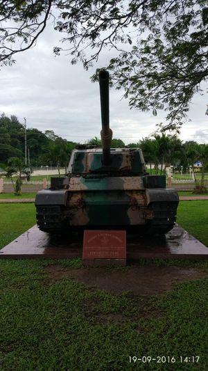 Battle Tank war memorial