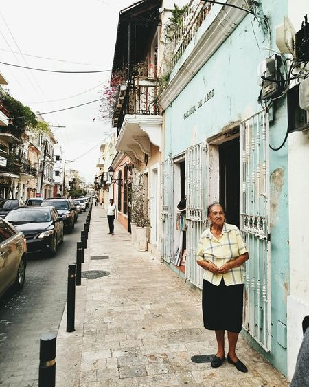 Only Women Adults Only Building Exterior Architecture Outdoors Street Citylife City Life Avenida Dominican Republic Meizumx6 Barrio Latin America Cityscape Architecture Sky City Caribbean Colonial Style The Caribbean Colonial Cities Colonial Architecture The Street Photographer - 2017 EyeEm Awards The Street Photographer - 2017 EyeEm Awards