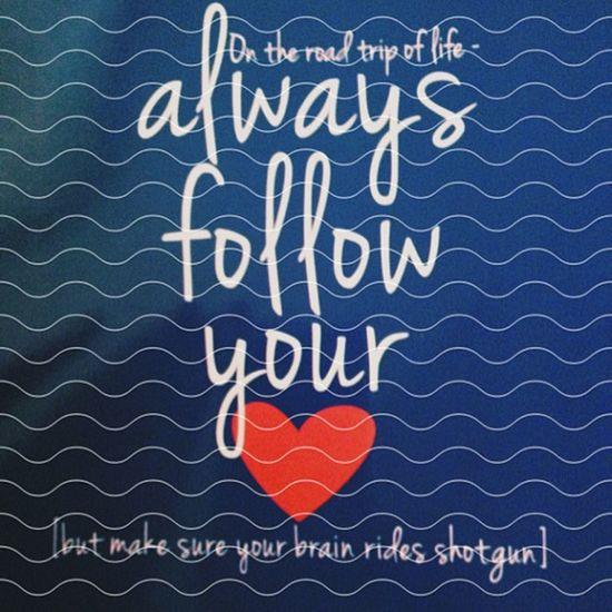 My planner has some pretty fun sayings. I decided to edit. Followyourheart Love Madewithstudio