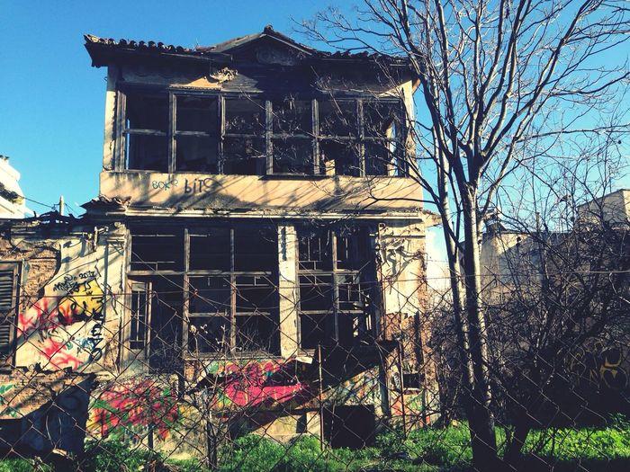 Walking Around Abandoned Urbex Oldhouse