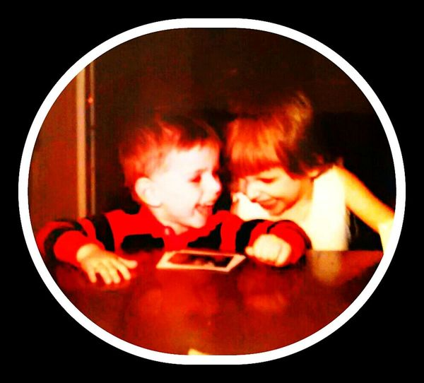 That's Me My Big Sister  Having Fun When We Were Kids Always Laughing At Something Every Picture Tells A Story...
